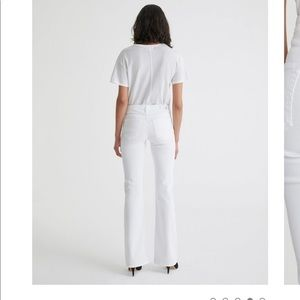 "Ag Adriano Goldschmied ""ANGEL"" White Jeans"
